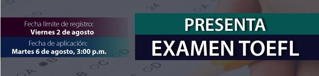 Examen TOEFL